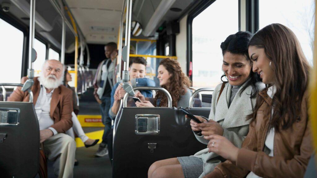 Savac passagers bus